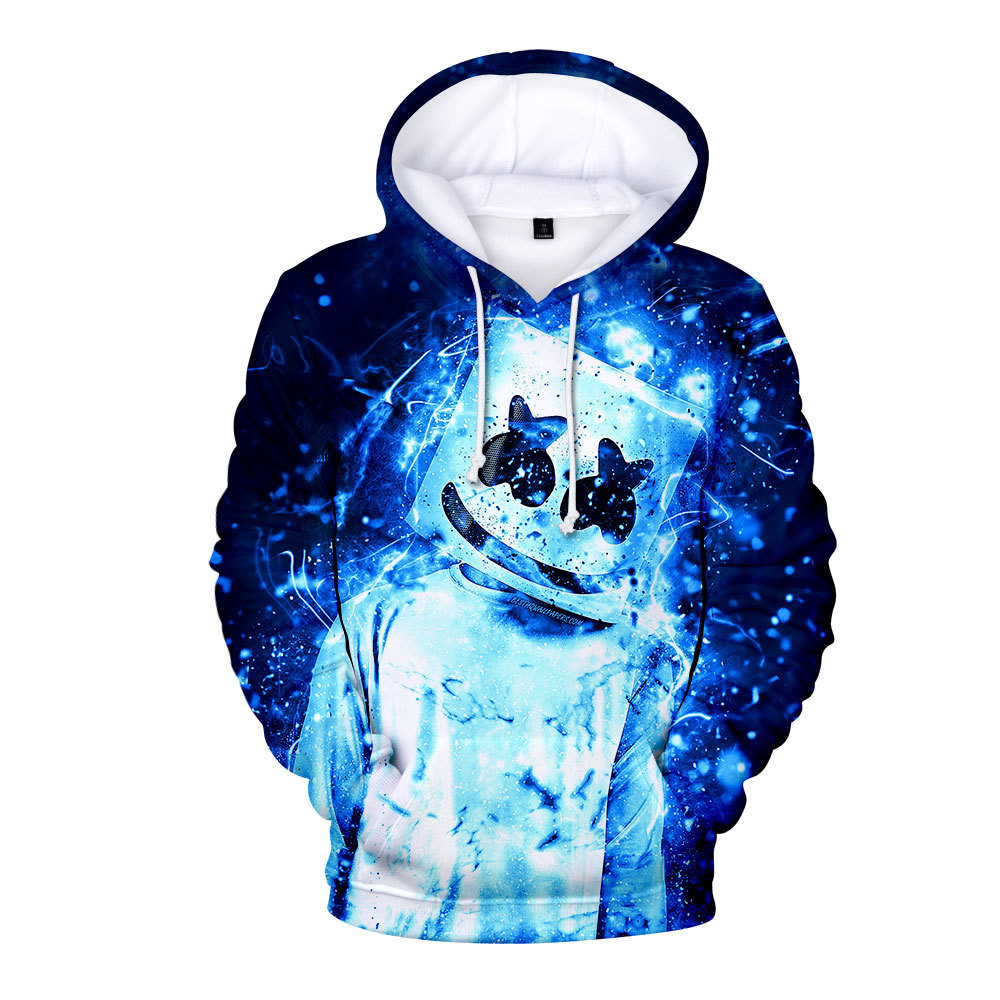 Adult Kids Children Game Marshmello DJ 3D Printed Hoodies Sweatshirts Cosplay Unisex Men Women Casual Streetwear Clothes Costume
