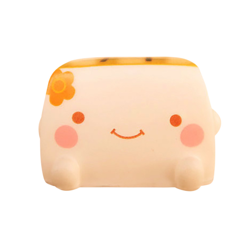 Adorable Simulated Japanese Tofu Cute Expression Slow Rebound Simulation Kids Toy Stress Reliever Toy Gift L108