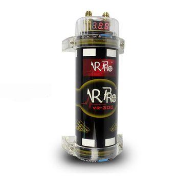 цена на Car Modification 3.0 Farad Capacitor Audio 20DCV Car Digital Power Modified Auto Parts Protection Automatic Recovery