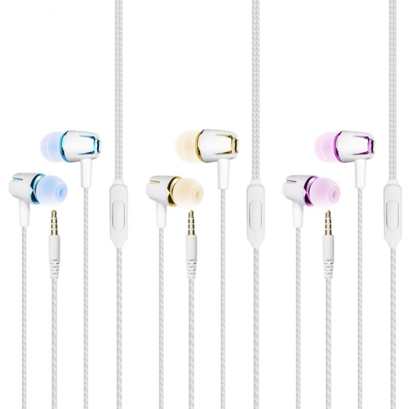 2020 3.5mm Sport Earphone Silicone Running Headphones Type Headset Music Line Control In Ear with MIC for Huawei Xiaomi iPhone 1