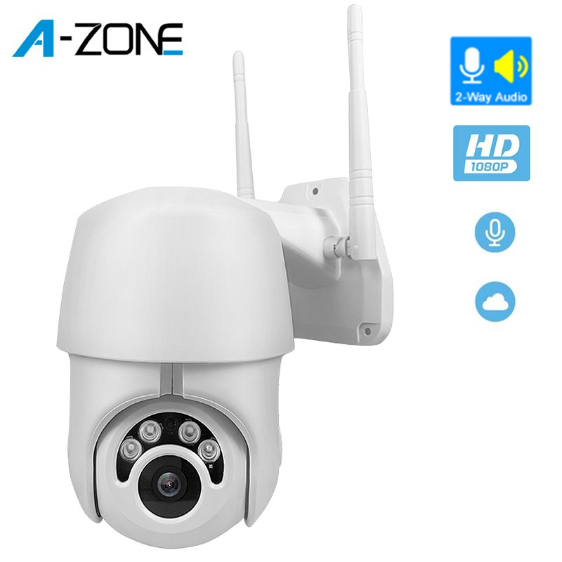 Outdoor WIFI Camera PTZ IP Camera H.265 1080P Speed CCTV Security Cameras IP Camera WIFI Exterior 2MP HD Home Surveilance Kamera