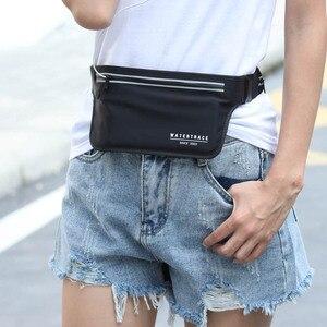 Image 5 - Sac de ceinture pour téléphone portable, sac de voyage étanche, Fitness, multifonctionnel, sac pour passeport course à pied