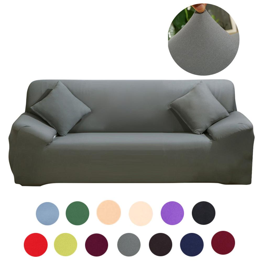 4 Seat Modern Elastic Sofa Cover for Living Room Spandex Slipcovers Couch Covers