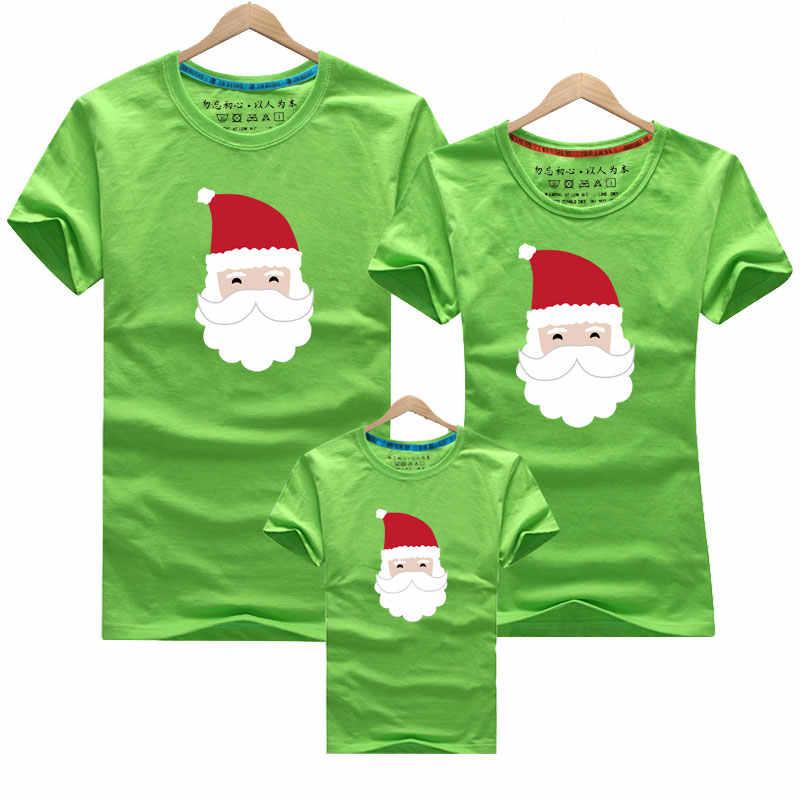 2019 Navidad madre camisa para hija ciervos Navidad familia mira ropa camiseta mamá y yo ropa bebé niñas niños ropa