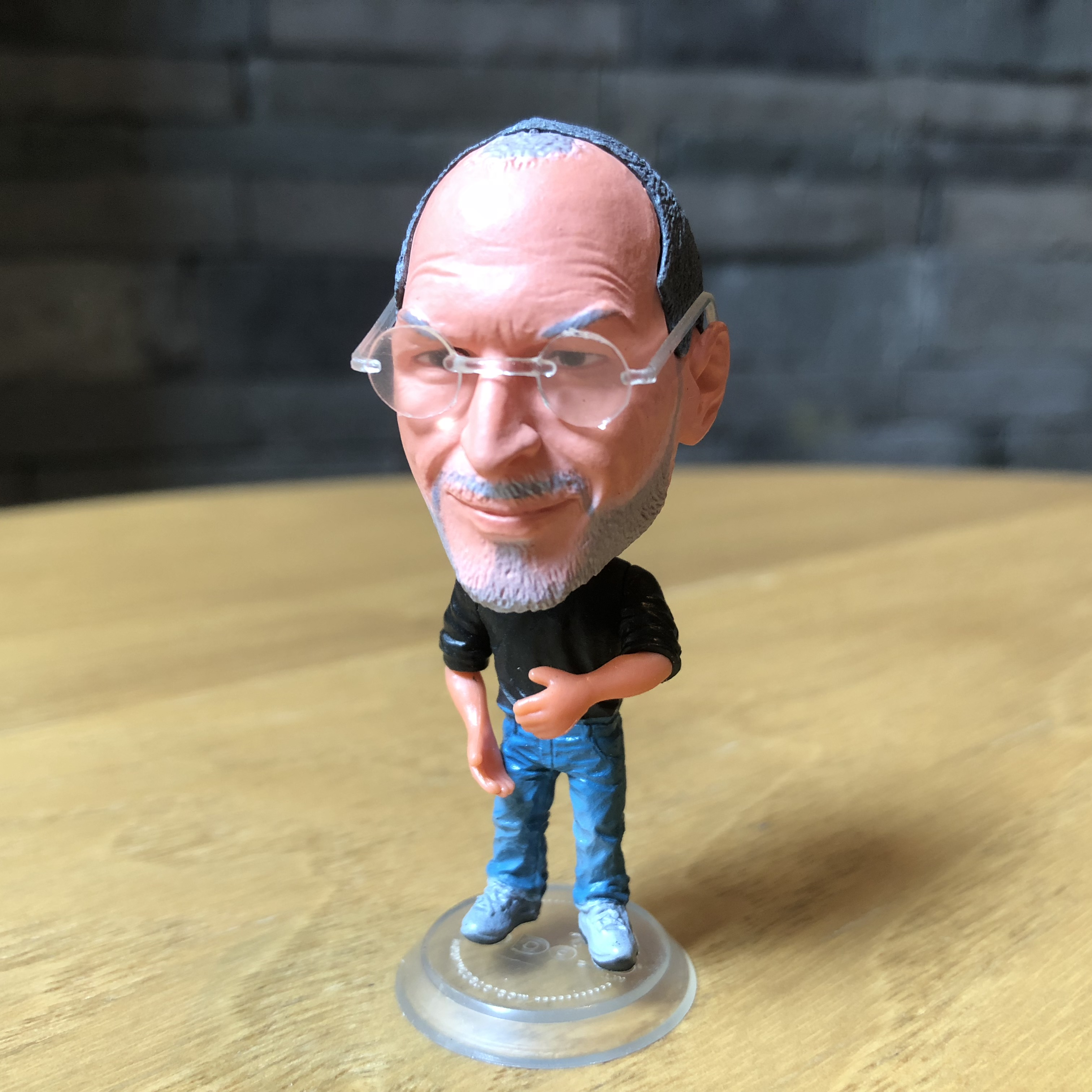 Technology Star Steve Classic Jobs Resin Doll Set Action Figure 6.5 Cm Mini Toy Collectible Gift