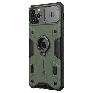 Image 5 - עבור iPhone 11 Pro Max פרו מקסימום מקרה NILLKIN CamShield שריון מקרה שקופיות מצלמה להגן על פרטיות טבעת kickstand חזור כיסוי עבור iPhone11 Pro פרו
