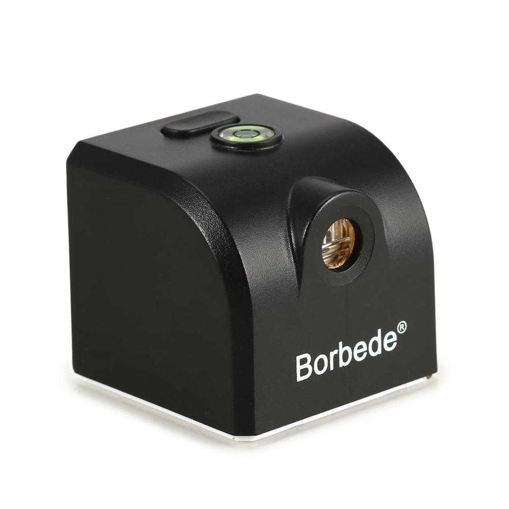 Borbede миниатюрный лазерный уровень с 2 поперечными линиями Красный вертикальный горизонтальный выравнивающий инструмент с магнитной адсорб...