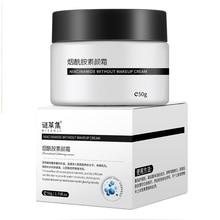 Nicotinamide Face Cream Whitening Tender Cream Moisturizing Oil-Control Brighten Lazy Nude Concealer Makeup Skin Care 50g недорого