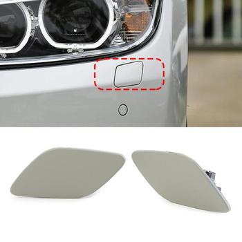 Headlight Front Left Right Washer Covers for BMW E92 328i 328xi 335i 2006-2009 with Sufficient Durability and Ruggedness image