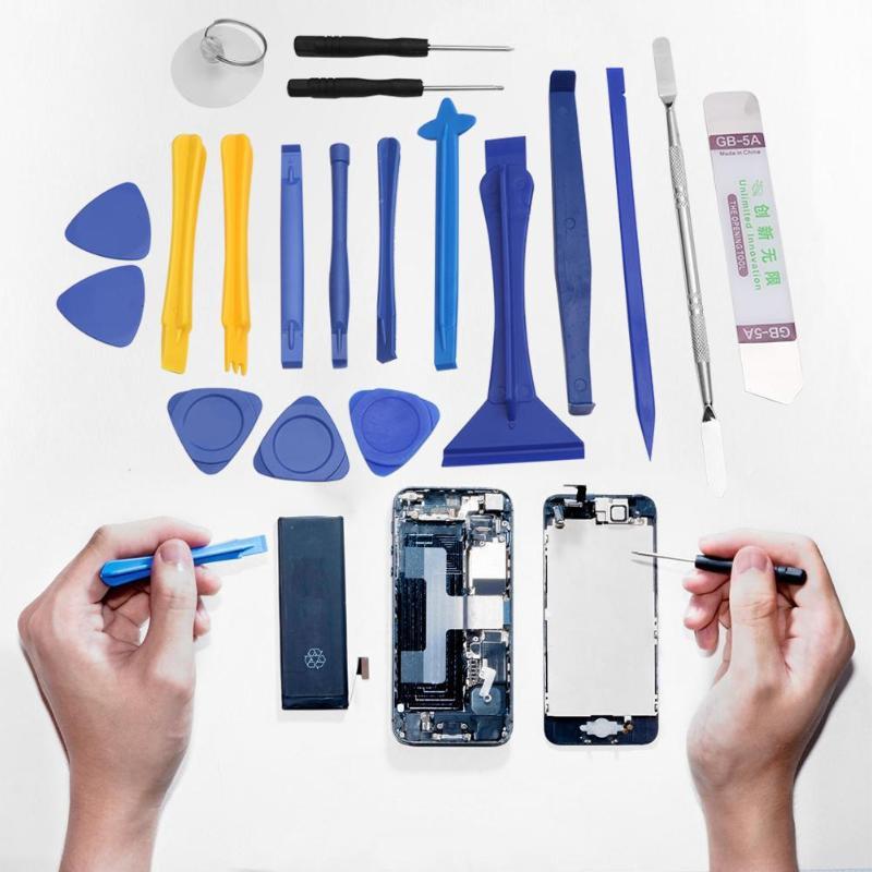 Отвертки 19 шт./компл., отвертки с рычагом, набор инструментов для разборки и ремонта для Apple, Samsung, iPad, планшетов