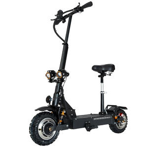 GUNAI Adult Scooter Motor 3200W Double-Drive 11inch 60V Max-Speed with Removeable-Seat