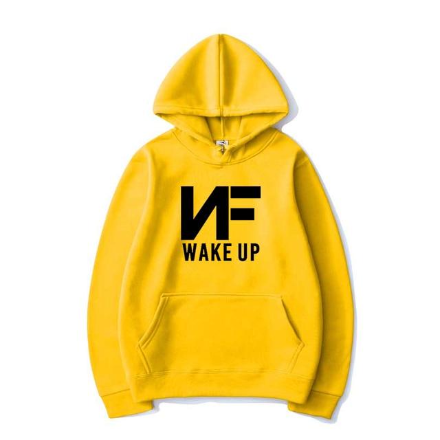 NF WAKE UP Warm Print Sweatshirt Hoodie 1
