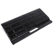 2pcs Heavy Duty Portable Rubber Kerb Ramp Non-slip Durable 45 × 20 × 7cmRubber