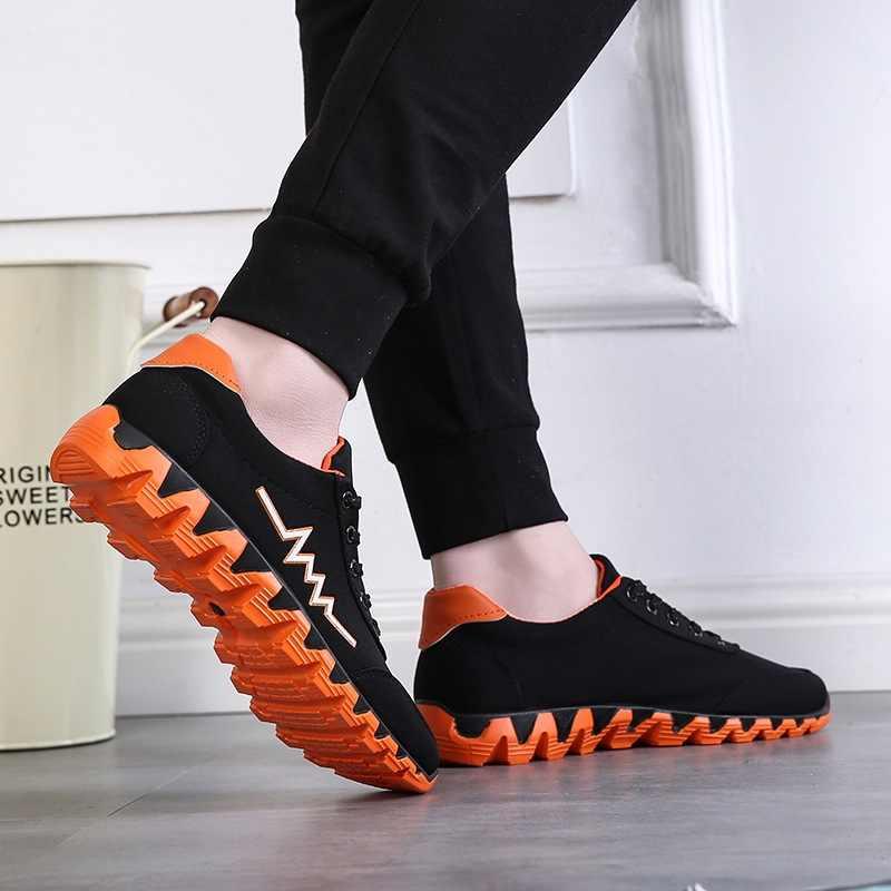 Yeni erkekler için moda ayakkabı rahat düşük kesim kanvas ayakkabılar öğrenci açık pisti yürüyüş ayakkabısı 2019 AD marka tasarım en çok satanlar