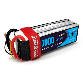 DXF  RC Battery 14.8V 7000mAh 60C-120C 4S  LiPo Li-Poly  for Helicopter Quadcopter Boats Car
