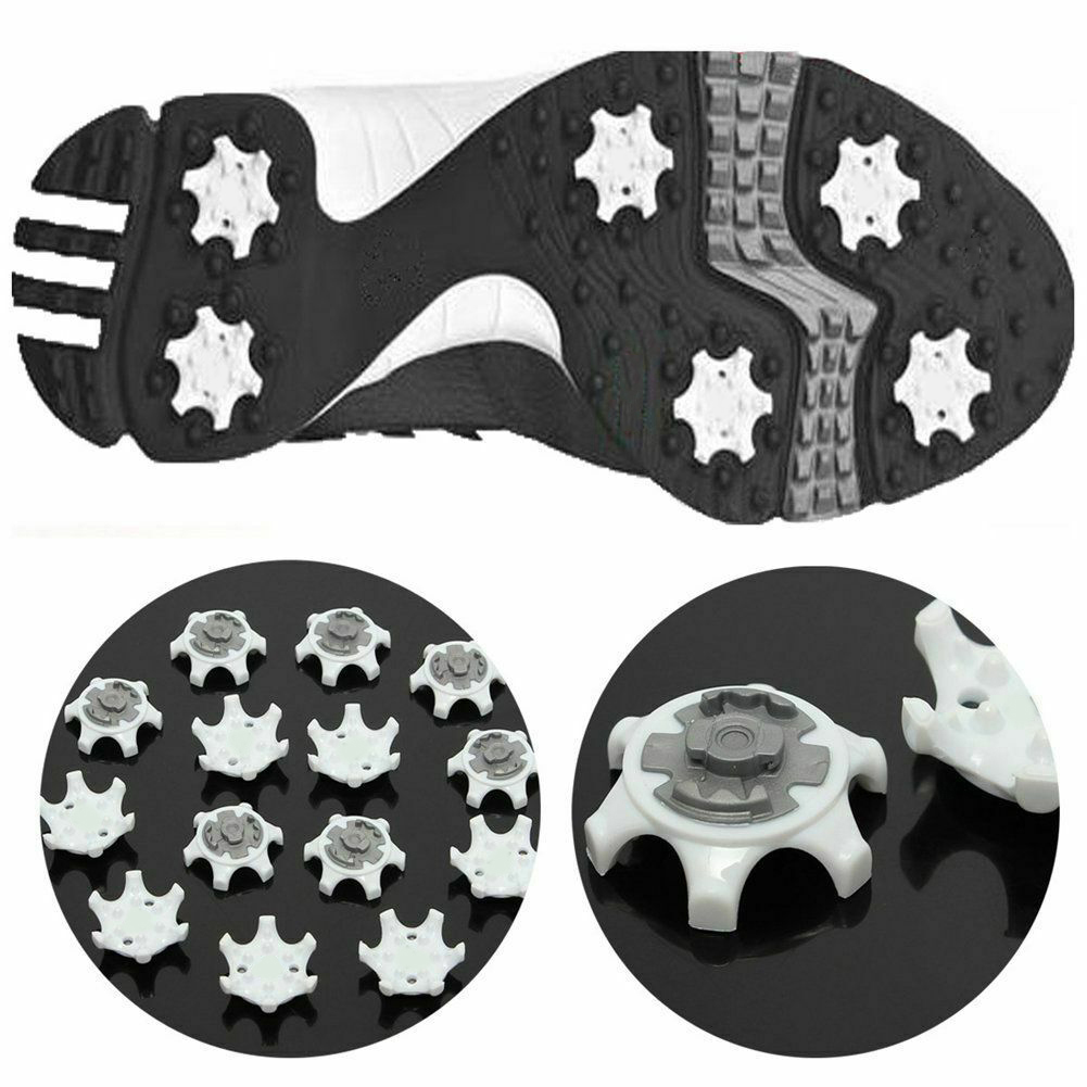 0-Support Dropshipping 14Pcs TPR White Golf Spikes Pins 1/4 Turn Fast Twist Shoe Spikes Replacement Accessories Golf Training Aids смотреть на Алиэкспресс Иркутск в рублях
