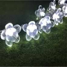 Гирлянда с цветами лотоса 220 В 10 м 100 светодиодов