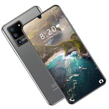 Global Version 6.5 inch S20 Plus Water drops screen smartphone Quad Camera 4800mAh 855 8 Core NFC phone triple-slot Android 9.1