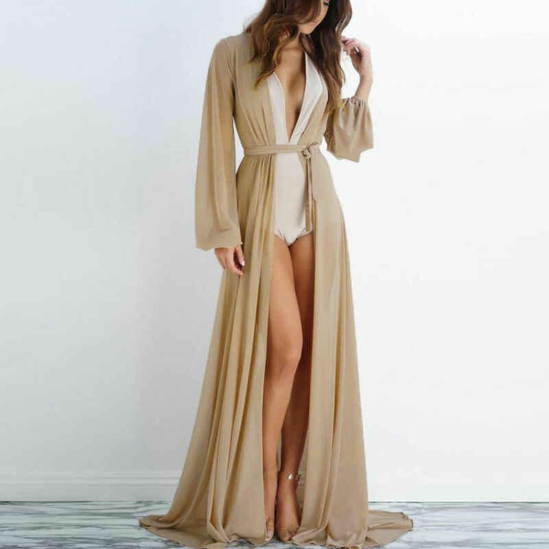 Платье Халат Из Шифона
