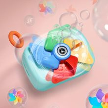 Bubble Camera with Music Light Electric Bubble Blowing Machine Kid Fully-Automatic Soap Bath Toys Water Game Gift Summer Outdoor