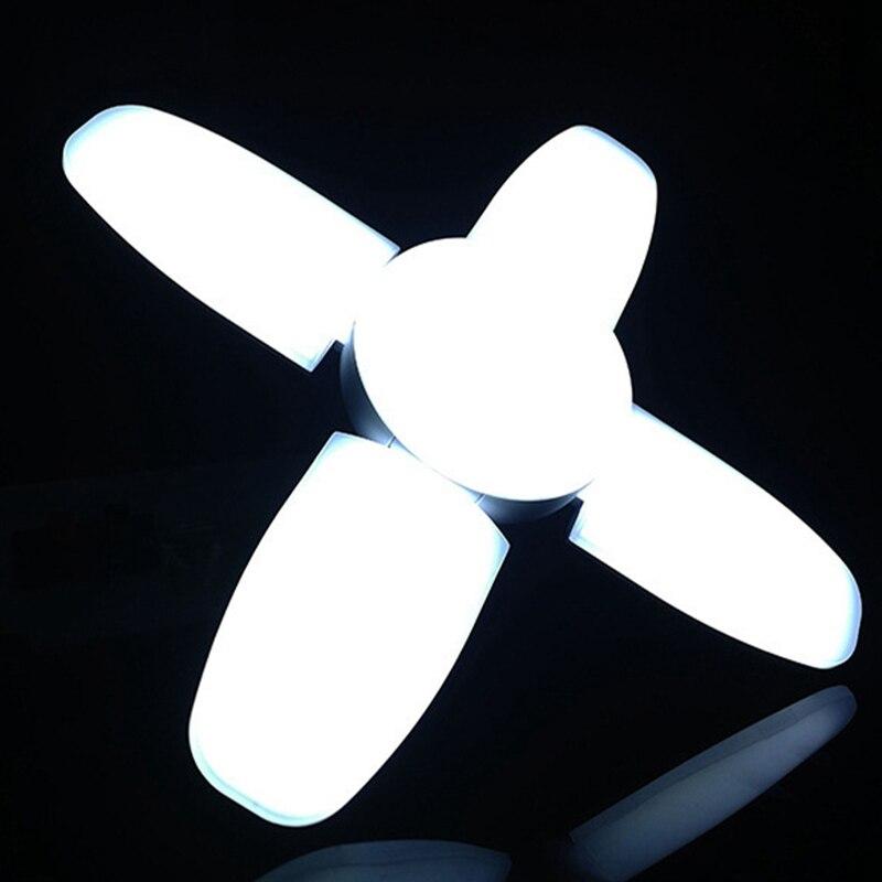 deformável lâmpada luz branca 170-240v