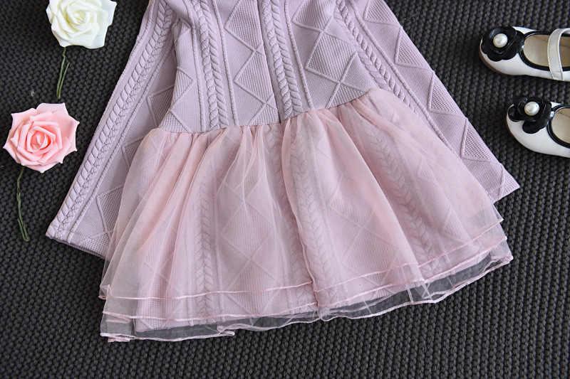 สาวออกแบบเสื้อผ้าถักชุดเด็กทารกชุดสำหรับเสื้อผ้าเด็กผู้หญิง Tutu วันเกิด