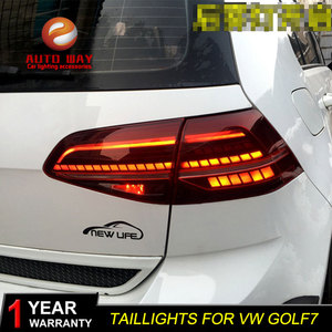 Image 3 - Car Styling for VW Golf 7 MK7 Golf7 Golf7.5 MK7.5 taillights TAIL Lights LED Tail Light LED Rear Lamp taillight Automobile