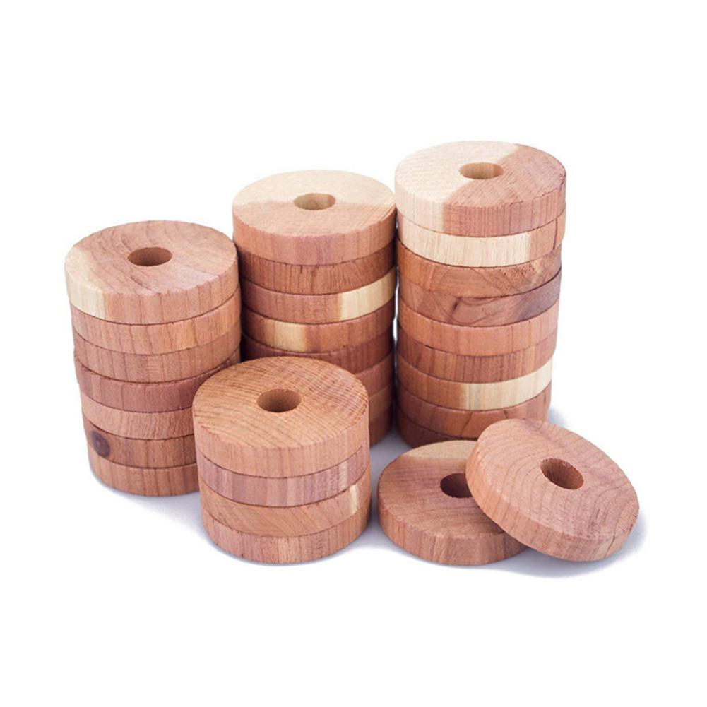Cedar Wood Block Cedar Wood Ring Wood Round Wardrobe Natural Pure Deworming Camphor Camphor Ball