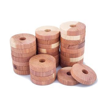 Z drewna cedrowego blok z drewna cedrowego pierścień drewna okrągły szafa naturalny czysty odrobaczanie kamfora kamfora piłka tanie i dobre opinie Other