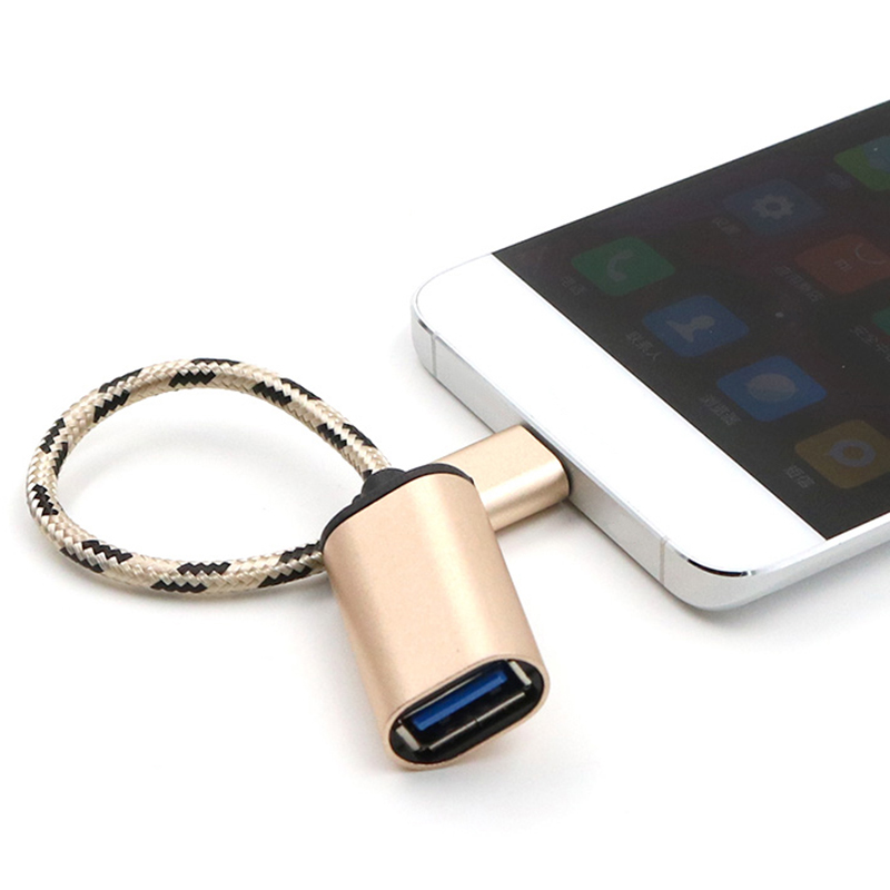 Type-C USB-C 3.1 Male To USB 2.0 Type A Female OTG Cable Cord Adapter Connector For Digital Camera MP3 4 Mobile Phone Etc Type C