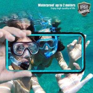 Image 2 - IP68 sualtı su geçirmez telefon kılıfı Samsung not 10 + artı S10 S8 S9 artı dalış su geçirmez standı durumda Galaxy not 8 9