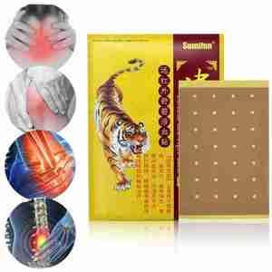 8 pièces chinois rouge baume du tigre douleur musculaire dos douleur articulaire soulagement plâtre patchs médical plâtre corps arthrite Patch médical