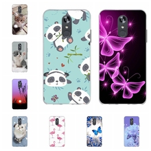 For LG Q Stylo 4 Stylus Case Soft Silicone TPU Cover Cartoon Patterned Plus Shell