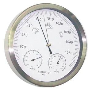 Image 1 - 20 سنتيمتر ميزان الحرارة الرطوبة مقياس الضغط 3 في 1 محطة الطقس الجدار الشنق