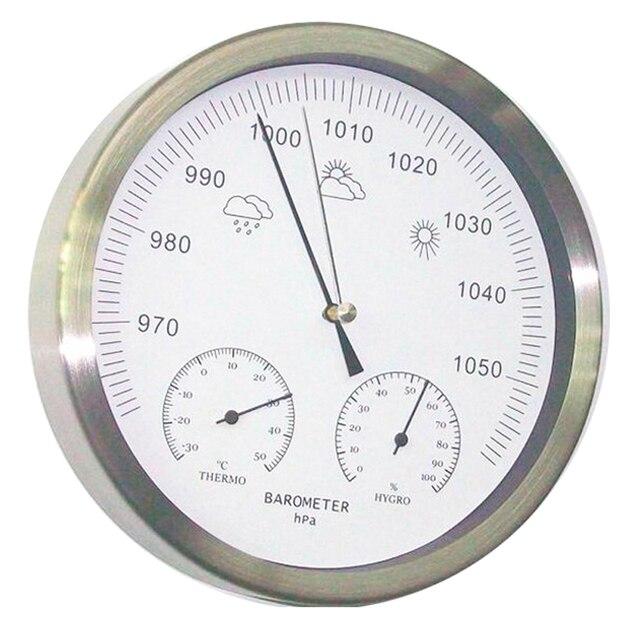 20 سنتيمتر ميزان الحرارة الرطوبة مقياس الضغط 3 في 1 محطة الطقس الجدار الشنق