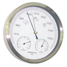 20cm Thermometer Hygrometer Barometer 3 in 1 Weather Station wall hanging