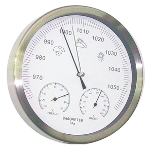 Image 1 - 20cm Thermometer Hygrometer Barometer 3 in 1 Weather Station wall hanging