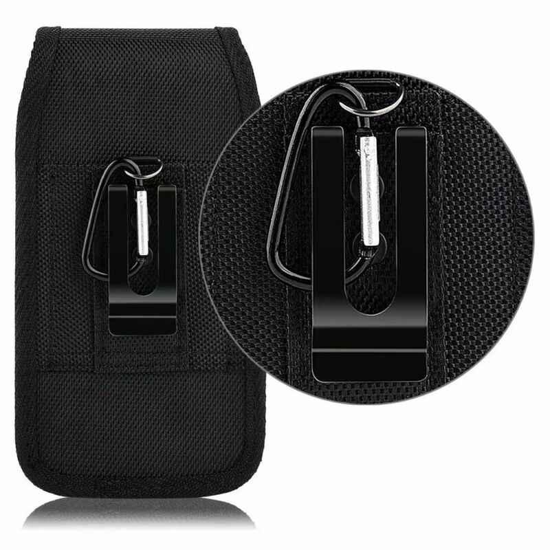 الحد 50 هواتف محمولة أفقية تحمل عمودي الحقيبة غطاء مع حزام كليب الحافظة أغطية هواتف محمولة