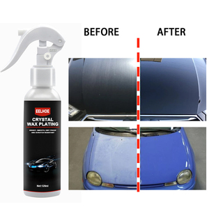 Image 4 - Hard Glossy Wax Laag Die De Verf Oppervlak Eelhoe Auto Wax Crystal Plating Automobiel Reparatie Polish Nanometer Coating Agent