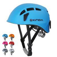 야외 등산 안전 헬멧 하드 표면 모자 조정 가능한 사이클링 헬멧 구조 건설 등산 작업 헬멧