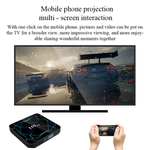 Image 4 - ТВ приставка Amlogic S905X3, Android 9,0, 8K, H.265, медиаплеер, 3D видео, 2,4G и 5,8G, Wi Fi, 4 Гб ОЗУ, 32 ГБ, 64 ГБ, ТВ приставка