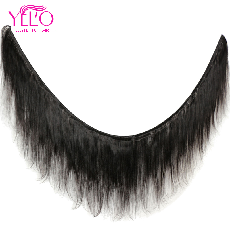 YELO High Ratio Brazilian Remy Straight 3Pcs/lot 100% Human Hair Extensions 8 30inch Natural Color Free Shipping - 2