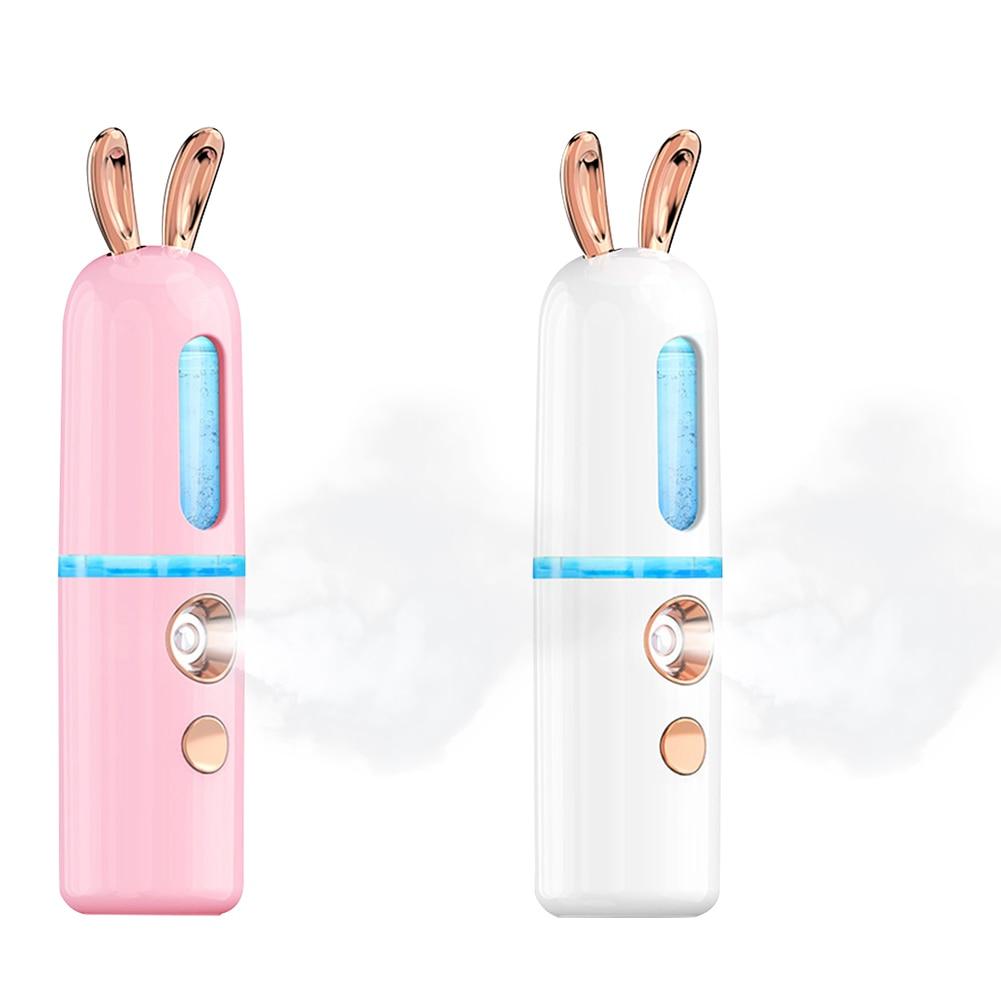 Увлажнитель для лица косметический инструмент милый олень форма мини нано лица мистер USB Перезаряжаемый удобный холодный распылитель тумана| |   | АлиЭкспресс