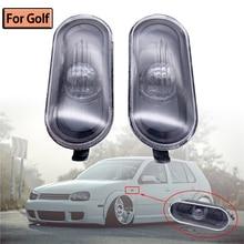 Автомобильный Стайлинг, боковой маркер, указатель поворота, светильник, лампа, ретранслятор для VW Golf 4 MK4 1998 2000 2001 2002 2003 2004 2005 2006