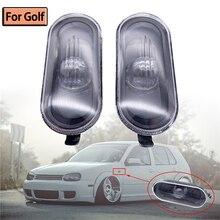 Indicador lateral de señal de giro para coche, repetidor de lámpara para VW Golf 4 MK4 1998 1999 2000 2001 2002 2003 2004 2005 2006