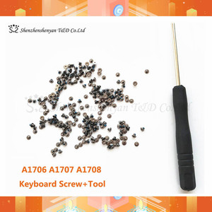 100pcs / set A1706 A1707 A1708 Keyboard Screw For Macbook Pro Retina 13