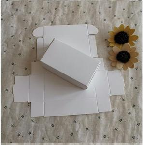 Image 5 - 50pcs kraft paper box White Black Kraft box for packaging Brown handmade gift soap paper boxes candy gift box