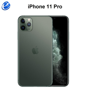 "Original iPhone 11 Pro/Pro Max Triple Rear Camera 5.8/6.5"" Super AMOLED Display A13 Chipset IOS 13 Smart Phone MI BlueTooth 2"