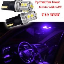 2pcs Highlight Car Trunk Turn T10 LED Light For Opel Astra H J G Insignia Mokka Corsa D Vectra C Zafira Meriva Infiniti q50 FX35 цена 2017