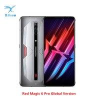 Versión Global Nubia magia roja 6 Pro 5G teléfono móvil 6,8 pulgadas 16GB RAM 256GB ROM Snapdragon 888 Android 11 juegos de teléfono